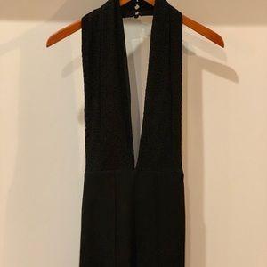 AKIRA Black Halter Jumpsuit